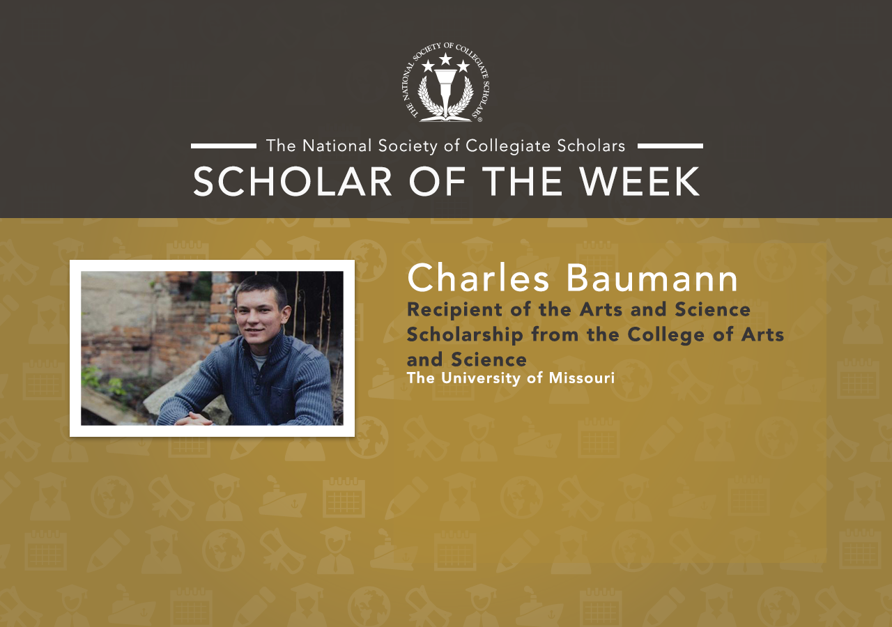 Scholar of the Week: Charles