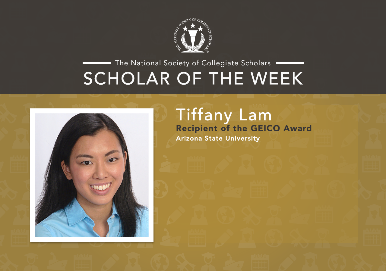 Scholar of the Week: Tiffany from Arizona State