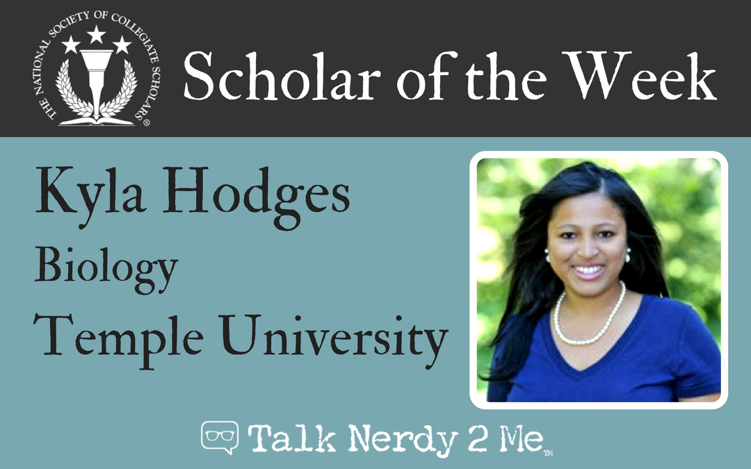 Scholar of the Week: Kyla Hodges